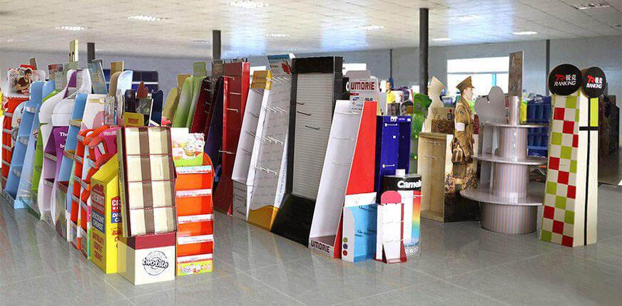 POP Cardboard Displays