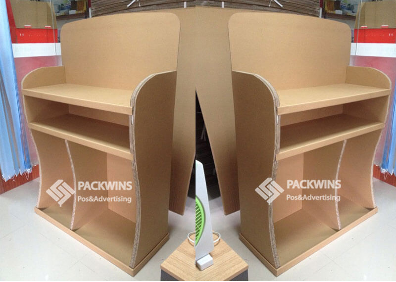 50mm Thickness Corrugated Point of Purchase Display