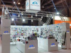AQUA Cardboard Display