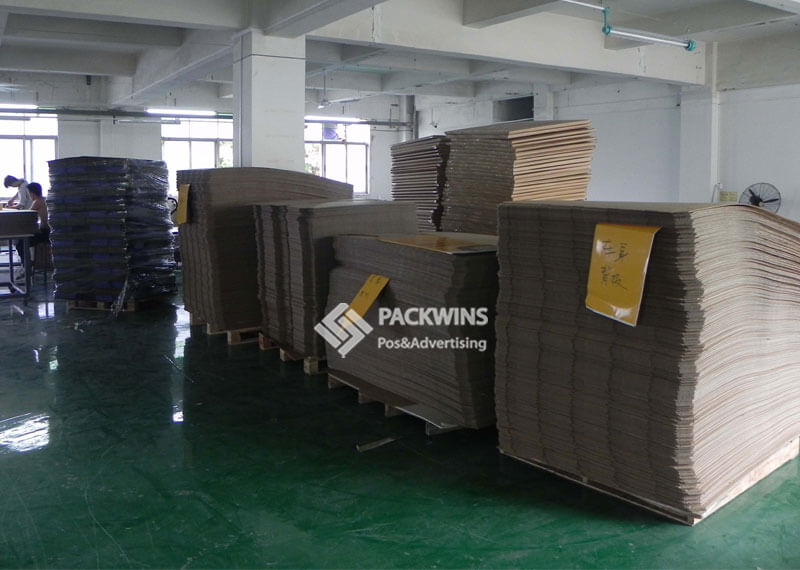 Back to School Stationary Cardboard Display Production
