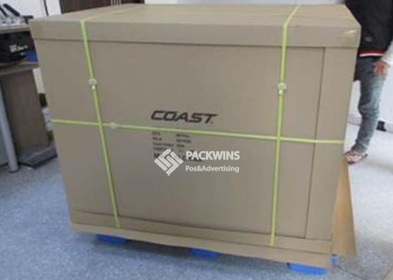 Coast Full Pallet POP Cardboard Display Packing