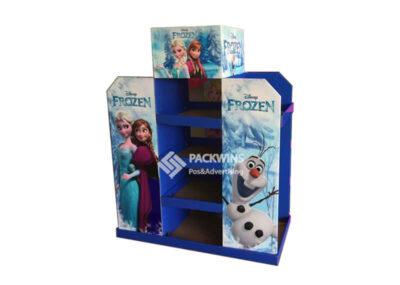Frozen Corrugate Half Pallet POP Display
