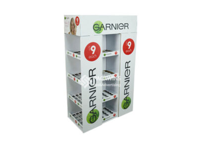 Garnier Point of Sale Retail Stand for Cosmetics