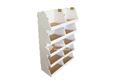 POS Corrugated Stacker Display for Garments