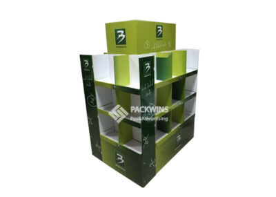 Pallet Food Display Rack Formed by 4 FSDUs