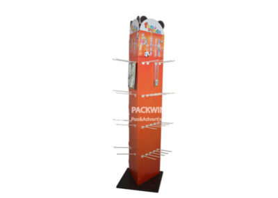 3 Faces Standing Pegboard Display For Kids Watch