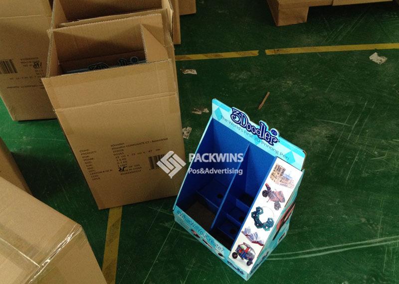 3Doodler Printing Pen Cardboard Counter Display Unit