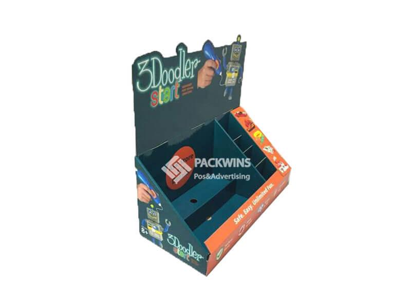 3Doodler Printing Pens Cardboard CDU Display