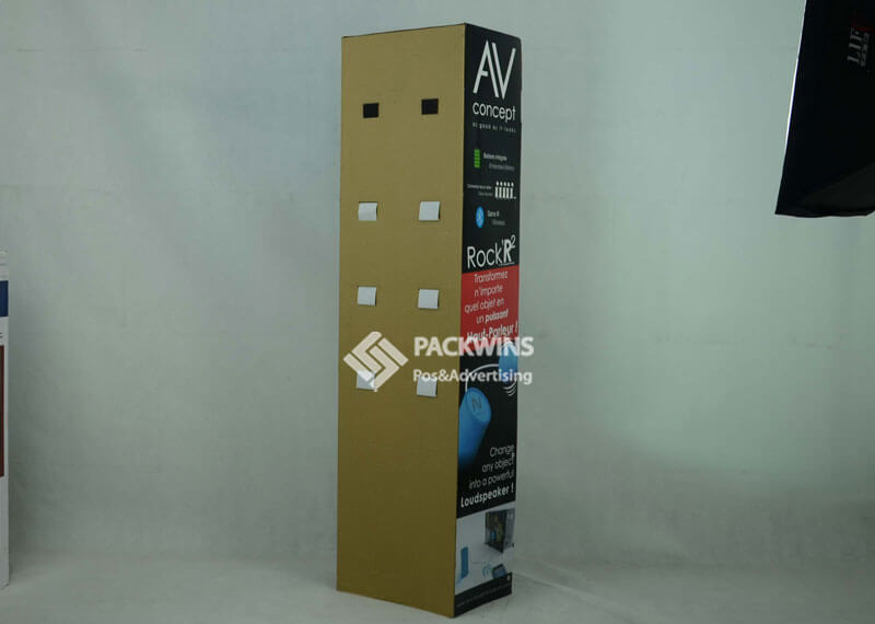 Armed With Lcd Screen Loud Speaker Point Of Sale Point Of Purchase