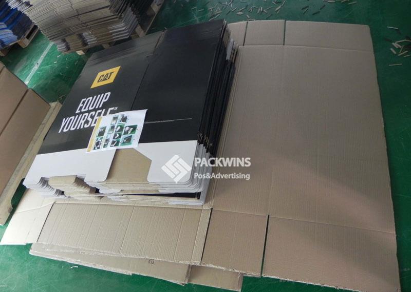 CAT Cats Clothes Dumpbin Cardboard Display