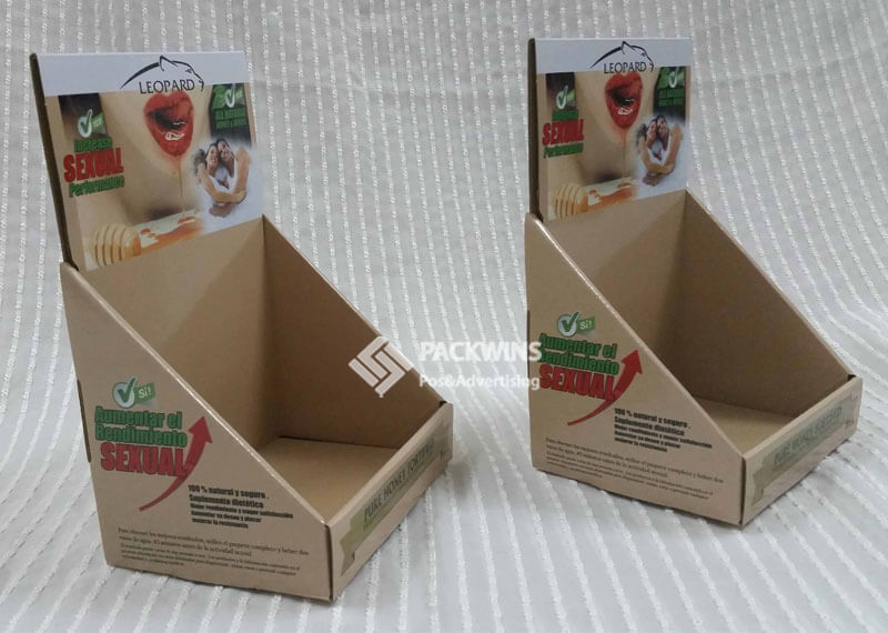 Counter Cardboard Display Boxes for Miracle Honey Energy
