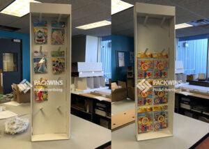 Disney Kids Books And Magnifier Pos Walmart End Cap Manufacturer (11)