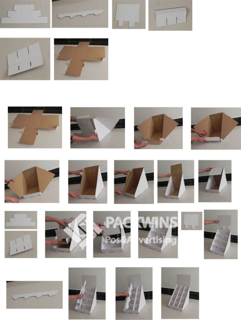 Display Cardboard Boxes for Vitika Watches