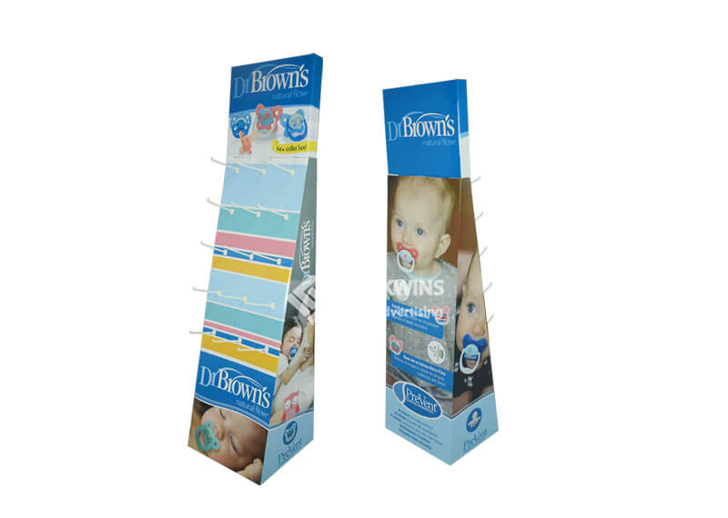 Dr.Brown's Natural Flow Kids' Pacifier Folding Pegboard Display