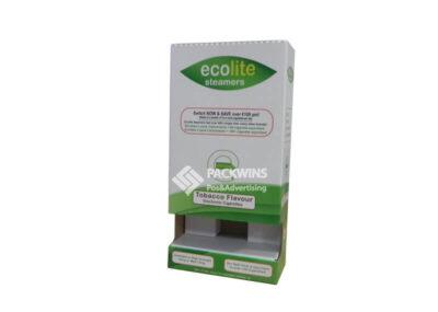 Ecolite Ecig Juice Paper Popshop Displays OEM Supplier