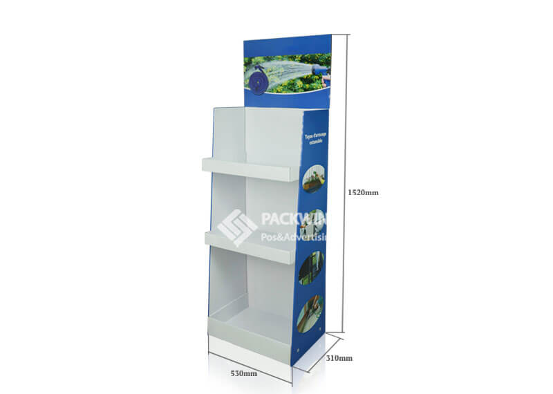Extendable Garden Hose Retail Shopping Corrugated Pop Displays