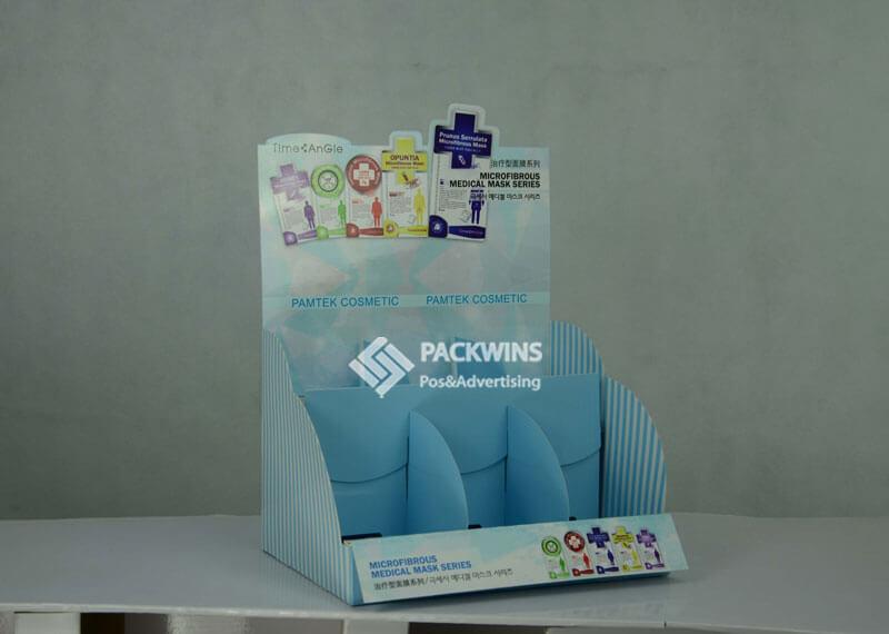 Facemasks Cardboard Merchandising Displays CDU
