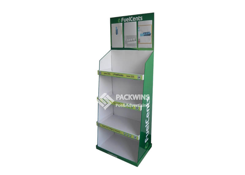 Fuelcents Oil Saving Retail Point Of Sale Displays