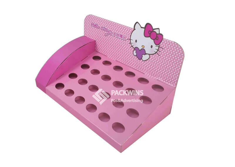 Hello Kitty Cosmetics Paper Display Table