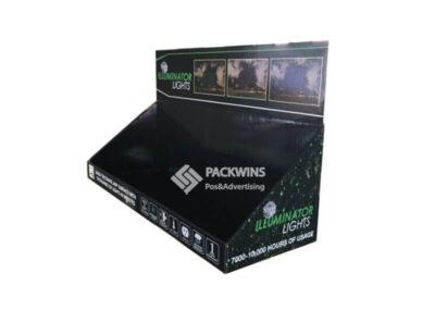 Illuminator Decor Lamps Retail Counter Display Boxes