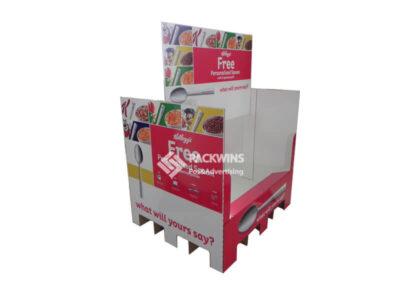 Kellogg's Corrugate Pallet Wrap Change with Promotional Seasons