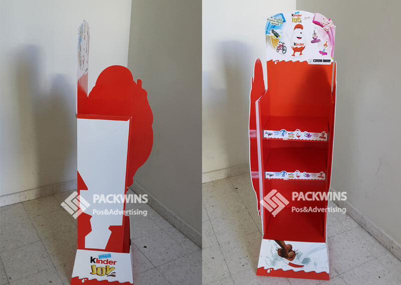 Kinder Chocalate Promo Retail Cardboard Pop Up Display