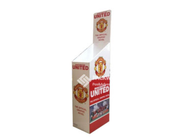 Manchester United Football Graphic Novel Cardboard Retail Displays