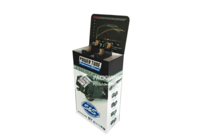 Motor Cycle Noise Cancelling Products Showcase Corrugated Display (5)