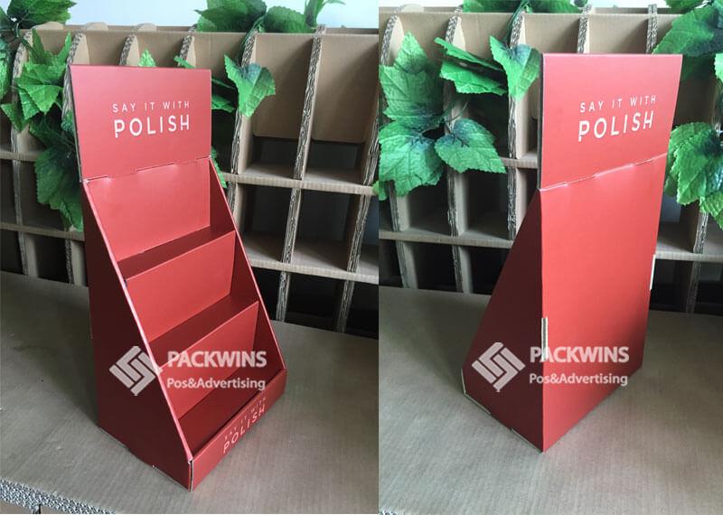 Nail Polish Retail Display Boxes Cardboard