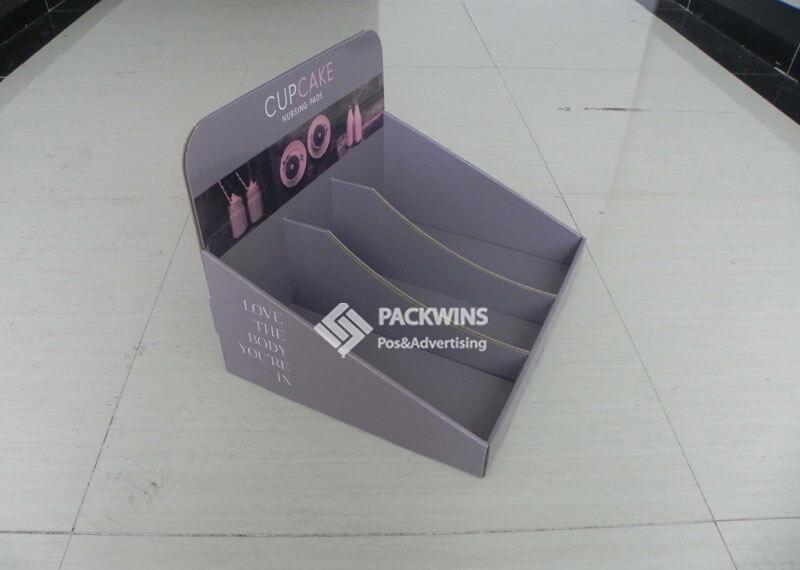Nursing Pads Corrugated POS Retail Display