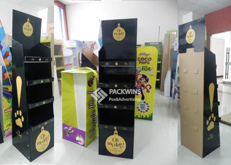 Oh My Dog Perfume Fsdu Carton Display Stands