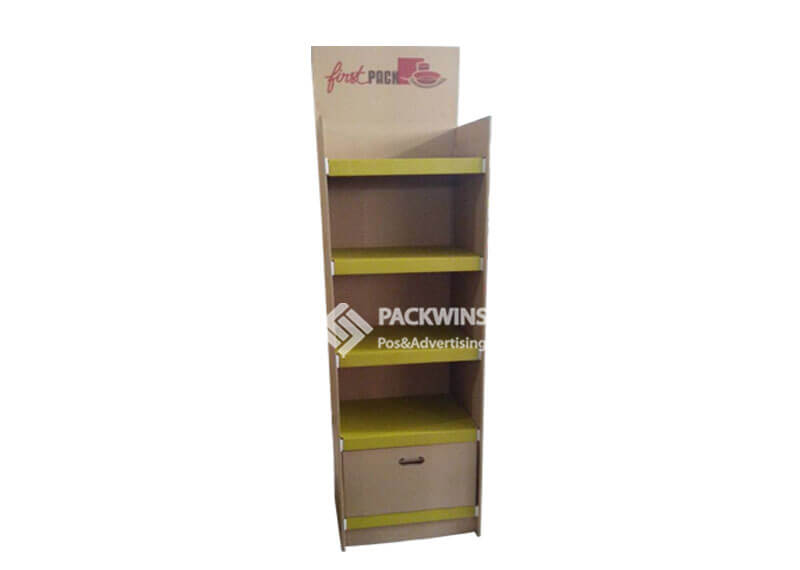 Packnwood Paper Tableware Point Of Purchase Display Design