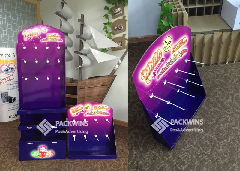 Pluto Sweets CDU Cardboard Point of Sale Display