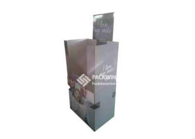 Retail Bins Cardboard Shipper Display To Display Socks (1)