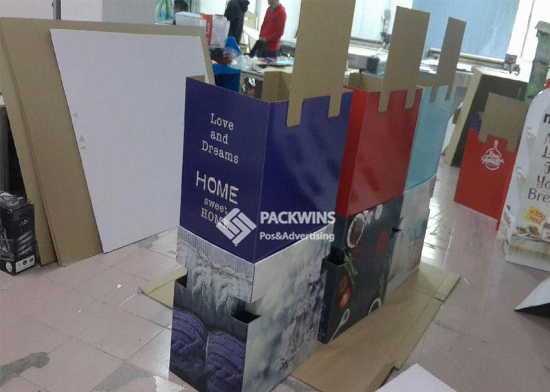 Retail Bins Cardboard Shipper Display To Display Socks (2)