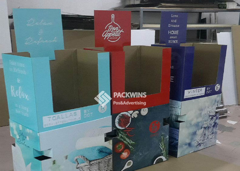 Retail Bins Cardboard Shipper Display To Display Socks (3)