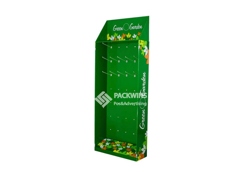 Retail Point of Sale Cardboard Display Stand for Garen Seeds