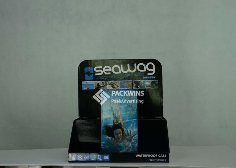 Seawag Waterproof Bag Corrugated Display