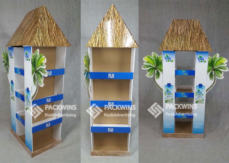 Snapple Coconut Drinks Point of Sale Cardboard Display