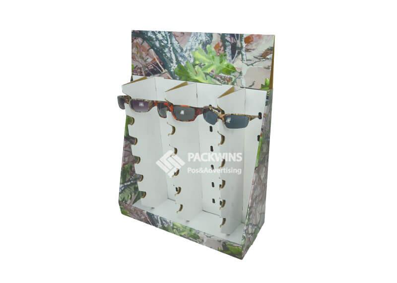 Sun Glasses Cardboard POS In Store Display