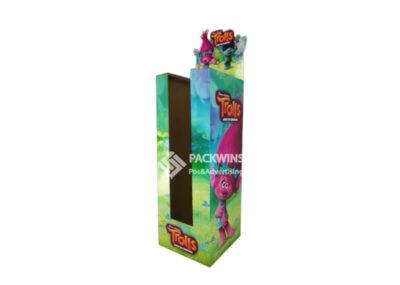 Trolls Plush Toys Pos Bin Cardboard Display Stands