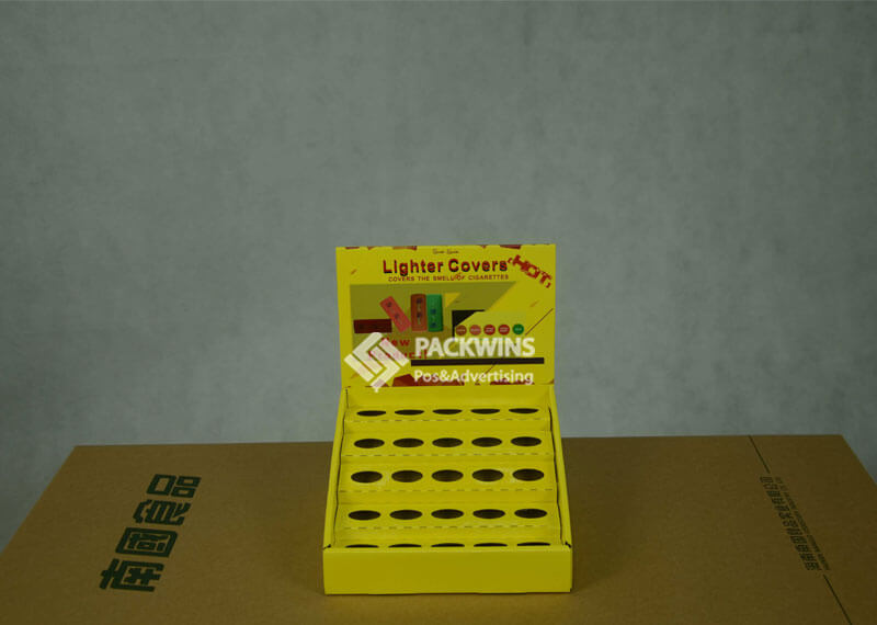 USB Charger Corrugated POP Counter Retail Product Display