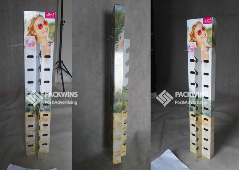 Ultra3 Sunglasses Hangsell Corrugated Pos Display Box