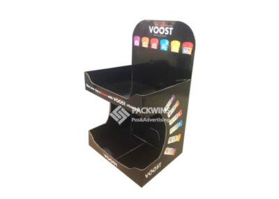 Voost Vitamins Counter Cardboard Display Units