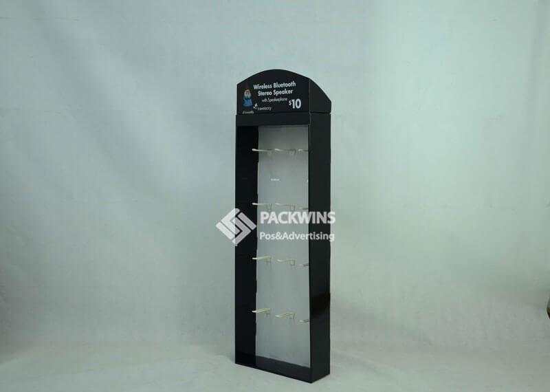 Wireless Bluetooth Headphones Cardboard Pop Up Trade Show Displays