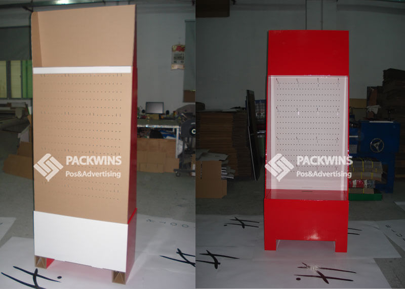 With Metal Hooks To Hang Heavy Duty Items Pegboard Retail Display