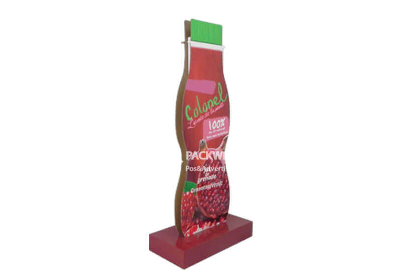 point of purchase fruit juice advertising cardboard standups (2)