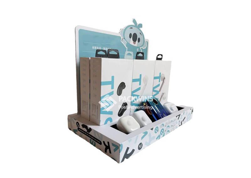 TWS Bluetooth Earplugs Poing of Sale Counter Cardboard Display (3)
